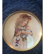 """Jan Hagara """"Carol"""" limited edition collectors plate - $75.00"""