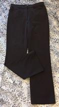 Isaac Mizrahi Live Black Stretch Dress Pants Pockets Size S Small - $9.99