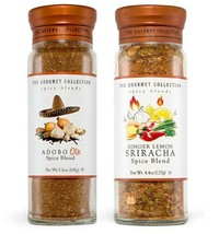 2 X The Gourmet Collection Ginger lemon Sriracha & ADOBO ole Spice Blend - $29.69