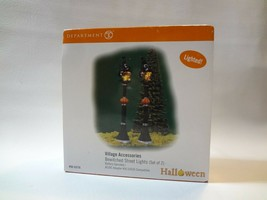 Department 56 Halloween Series Bewitched Street Lights New - $26.72