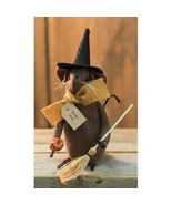 farmhouse primitive country rustic fall Halloween decor Witchy Poo Mouse... - $29.99
