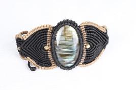labradorite yoga string healing minimalist jewelry chakra yoga jewelry e... - $16.00