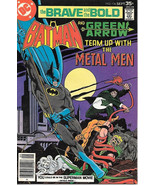 Brave and the Bold Comic Book #136 DC Batman and Green Arrow 1977 VFN/NE... - $10.69