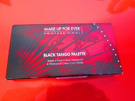 Make Up For Ever Black Tango Palette ~ New in Box ~ Free Shipping - $21.95