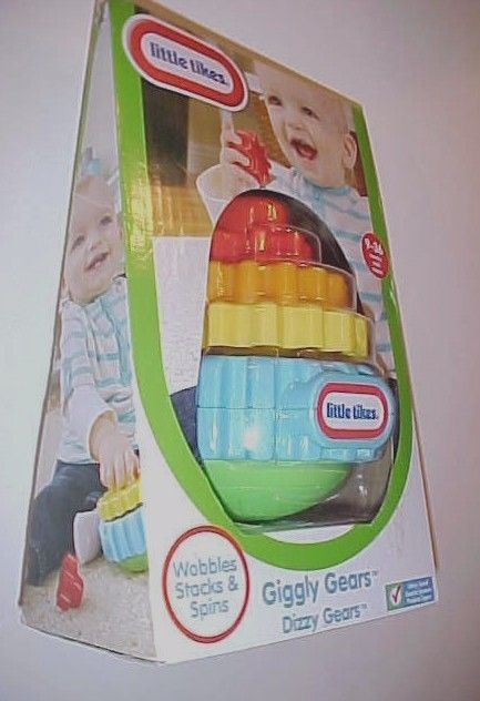 Primary image for Little Tikes Giggly Gears Dizzy Gears Playset Red Orange Yellow Blue New NIB