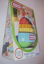 Little Tikes Giggly Gears Dizzy Gears Playset Red Orange Yellow Blue New... - $15.83
