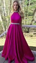 prom dresses, 2018 prom dresses, long prom dresses, hot pink prom dresses - $159.00