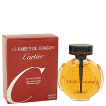 Le Baiser Du Dragon by Cartier Eau De Parfum  3.3 oz, Women - $58.14