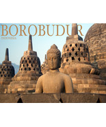 "18x24"" CANVAS Decor.Room art print.Travel shop.Borobudur Indonesia.6031 - $59.40"