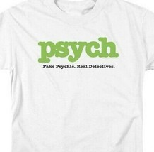 Psych t-shirt Fake Psychic Real Detective comedy TV series graphic tee NBC589 image 2
