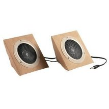 Eco-Friendly Stereo Speakers - $13.10