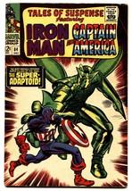 Tales Of Suspense #84 Comic Book 1966-IRON MAN/CAPTAIN AMERICA-MARVEL-FN - $44.14