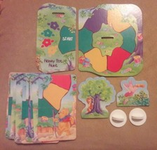 Winnie the Pooh HONEY POT HUNT GAME replacement pieces PATH CARDS TURN A... - $7.69