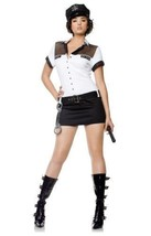 7 'til Midnight Women's Police Officer Midnight Halloween Costume 10109 Size M