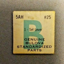 Genuine Bulova Standardized Parts 1-Set Lever #25 5AH - $13.20