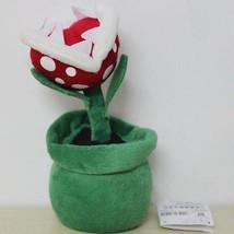 Super Mario Bros Plush Piranha Plant Soft Toy Nintendo Stuffed Animal Do... - $10.99