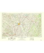 Topo Map - Waco Texas Quad - USGS 1964 - 23.00 x 35.15 - $36.58+