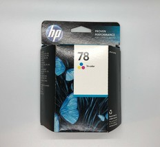 2013 New HP #78 (C6578DN) Tri-Color Ink Cartridge Factory-Sealed New Read - $21.74