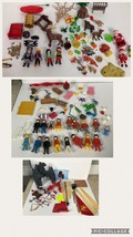 Huge Playmobil figures accessories lot bundle Many 1974 Figures - $53.20
