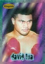 David Tua card (Boxing) 1996 Ringside Rookie #R1 - $3.00