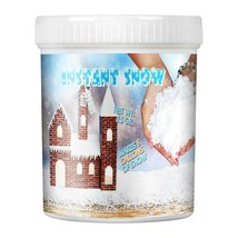 TIME4DEALS Instant Snow Powder for Slime, Fake Snow Makes 5 Gallons of A... - $16.14