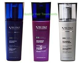 Tec Italy Straightening Pack: Metamorfosi Shampoo 10.1 Oz. + Metamorfosi... - $58.16