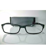Foster Grant E-Z Reader Jameson Mens Black Modern Reading Glasses w/Case... - $6.93