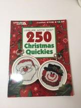 Best 250 Christmas Quickies Cross Stitch Pattern Book Leisure Arts - $9.74