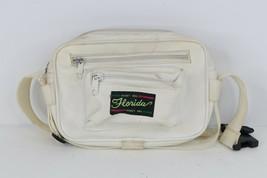 Vtg 90s Streetwear Florida Money Bag Spell Out Dual Crossbody Fanny Pack... - $34.60