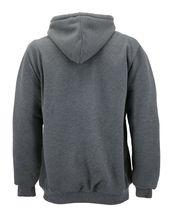 Men's Heavyweight Thermal Zip Up Hoodie Warm Sherpa Lined Sweater Jacket image 7