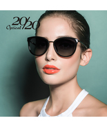 Sunglasses women retro style metal frame sun glasses famous lady brand designer oculos thumbtall
