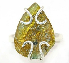 Natural Labradorite 925 Sterling Silver Ring Jewelry Sz 8.5, EA29-6 - $30.68