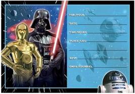 Star Wars Invitations 8 PCS - $8.86