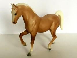 Breyer Traditional Horse Faith Family Arabian Stallion Palomino 1967-198... - $25.49