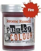 Jerome Russell Punky Hair Color Creme, Fire, 3.5 Ounce by jerome russell... - $14.95