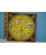 Beautiful 1931 Kellogg's Wheel of Knowlege Fact... - $18.49