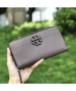 New Tory Burch Mcgraw Zip Continental Wallet - $149.00