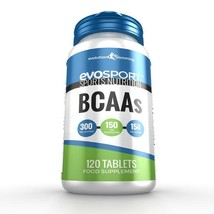 EvoSport BCAA Branched Chain Amino Acid Tablets 120 Tablets - $16.89