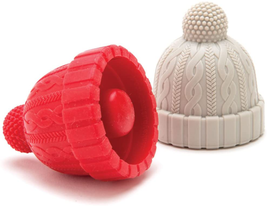Beanie Cap Decorative Silicone Bottle Stopper in a gift box, Set of Two,... - $23.77