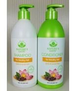 Nature's Gate Jojoba & Sacred Lotus Shampoo + Conditioner For Thin/Dry H... - $59.40