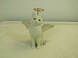 Lenox the Ivory Cat Collection Face of an Angel no box or paperwork ange... - $25.73