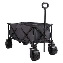 Patio Watcher Collapsible Folding Wagon Utility Wagon Cart Beach Wagon A... - $165.68