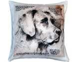Pillow Decor - Labrador Dog Pillow 17x17