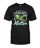 Sea Turtle Tee Shirt Girls Women  Turtle Lives Matter - $17.99+