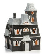 Martha Stewart Collection Haunted House Cookie Jar Halloween NIB - $23.74