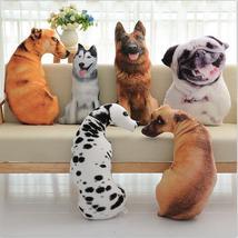 3D Animal Cat Dog Shape Throw Pillow Cotton Plush Soft Office Home Decor 50CM - $24.00