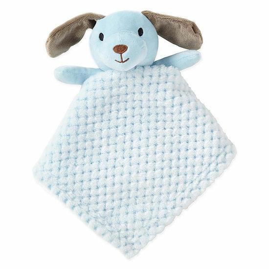 CARTERS OS Plush LAMB BLANKET Rabbit PINK Rattles Baby PACIFIER HOLDER White Toy