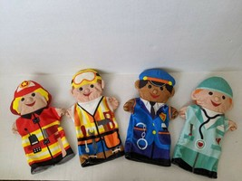 Melissa and Doug Puppets Jolly Helpers Hand Puppets - $25.99
