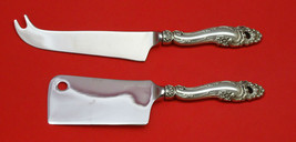 Decor by Gorham Sterling Silver Cheese Server Serving Set 2pc HHWS  Custom Made - $118.85