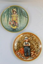 2 KNOWLES COLLECTOR PLATES VINTAGE 1986 EASTER (1216813) THANKSGIVING(63... - $39.55